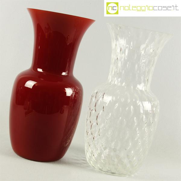 Venini coppia vasi opalino for Barovier e toso catalogo vasi