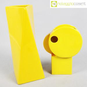 Parravicini Ceramiche, coppia vasi colore giallo (1)