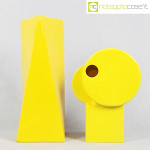 Parravicini Ceramiche, coppia vasi colore giallo (2)
