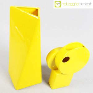 Parravicini Ceramiche, coppia vasi colore giallo (3)