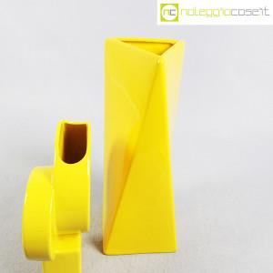Parravicini Ceramiche, coppia vasi colore giallo (6)