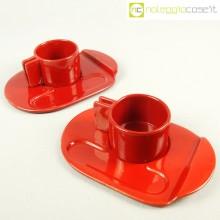 Gabbianelli tazze rosse serie Liisi