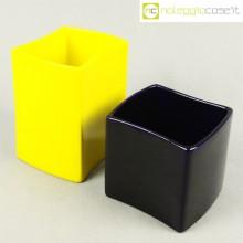 Gabbianelli coppia vasi giallo e blu