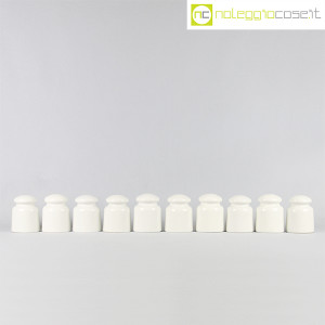 Richard Ginori, Isolatori elettrici bianchi piccoli (2)