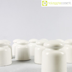Richard Ginori, Isolatori elettrici bianchi piccoli (8)