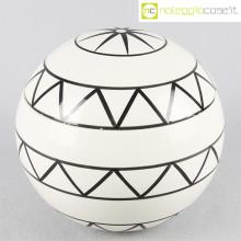 Traversi Ceramiche contenitore con decori