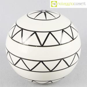 Traversi Ceramiche, contenitore a decori geometrici (1)