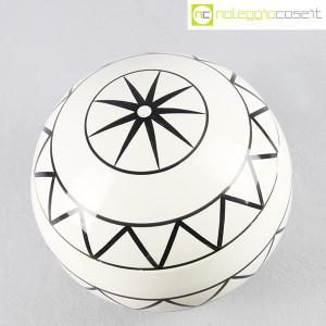 Traversi Ceramiche, contenitore a decori geometrici (2)
