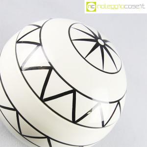 Traversi Ceramiche, contenitore a decori geometrici (4)