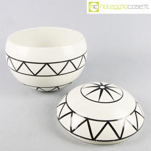 Traversi Ceramiche, contenitore a decori geometrici (5)