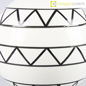 Traversi Ceramiche, contenitore a decori geometrici (7)