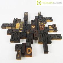 Caratteri tipografici in legno set 02