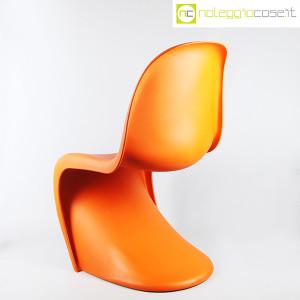 Vitra, sedia Panton Chair arancio, Verner Panton (4)