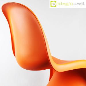 Vitra, sedia Panton Chair arancio, Verner Panton (6)