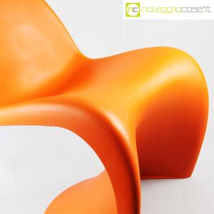 Vitra, sedia Panton Chair arancio, Verner Panton (7)