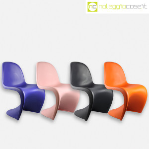 Vitra, sedia Panton Chair arancio, Verner Panton (9)