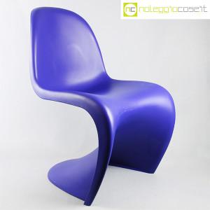 Vitra, sedia Panton Chair blu, Verner Panton (1)