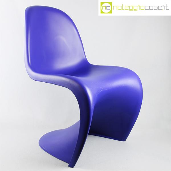 Vitra, sedia Panton Chair blu, Verner Panton, 1967 – 1999 edition ...