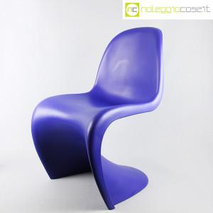 Vitra, sedia Panton Chair blu, Verner Panton (3)