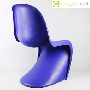 Vitra, sedia Panton Chair blu, Verner Panton (4)