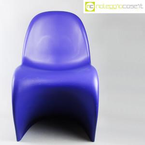 Vitra, sedia Panton Chair blu, Verner Panton (5)