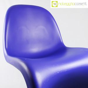 Vitra, sedia Panton Chair blu, Verner Panton (7)