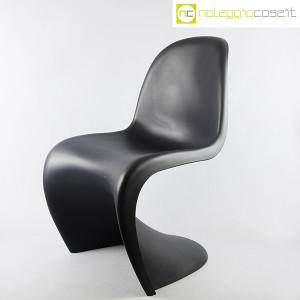 Vitra, sedia Panton Chair nero, Verner Panton (3)