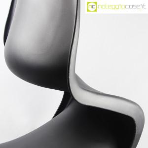 Vitra, sedia Panton Chair nero, Verner Panton (6)