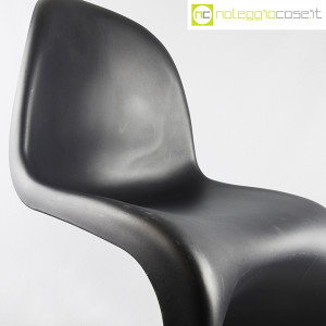 Vitra, sedia Panton Chair nero, Verner Panton (7)
