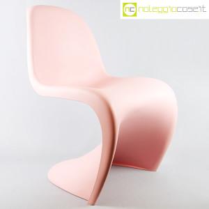 Vitra, sedia Panton Chair rosa, Verner Panton (1)