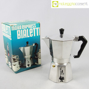 Bialetti, caffettiera Moka Express 6tz, Alfonso Bialetti (1)