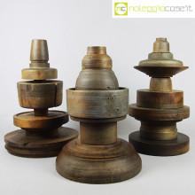 Totem antichi (stampi) in legno SET 02