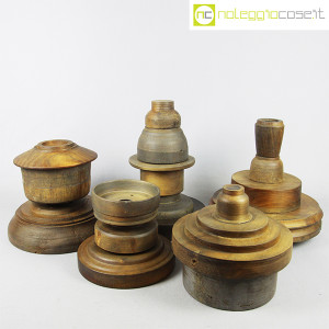 Totem antichi in legno SET 02 (2)