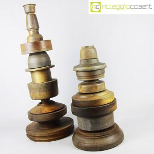 Totem antichi in legno SET 02 (4)