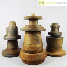 Totem antichi (stampi) in legno SET 03