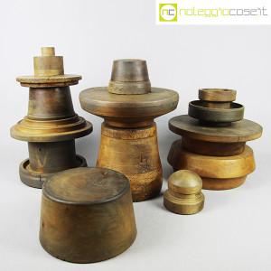 Totem antichi in legno SET 03 (2)