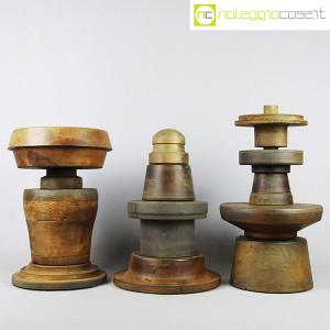 Totem antichi in legno SET 03 (3)