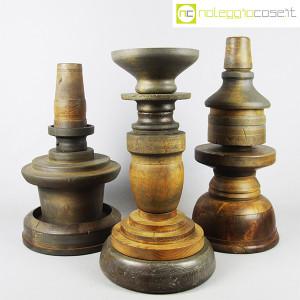 Totem antichi in legno SET 04 (1)