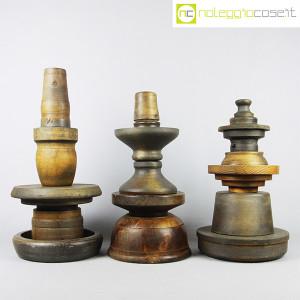 Totem antichi in legno SET 04 (3)