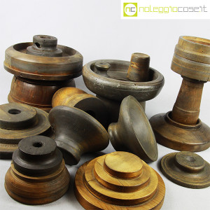 Totem antichi in legno SET 04 (7)