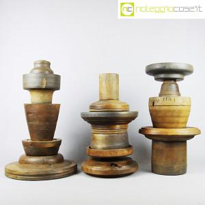 Totem antichi in legno SET 05 (3)