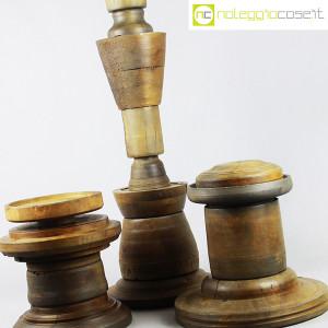 Totem antichi in legno SET 05 (5)