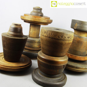 Totem antichi in legno SET 05 (6)