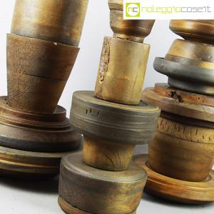 Totem antichi in legno SET 05 (8)