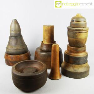 Totem antichi in legno SET 06 (2)