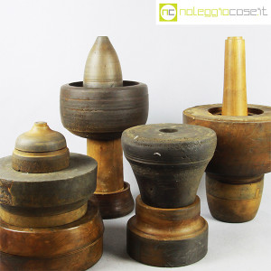 Totem antichi in legno SET 06 (6)
