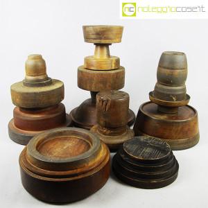 Totem antichi in legno SET 07 (2)