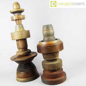 Totem antichi in legno SET 07 (4)