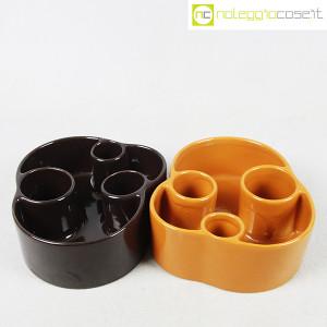 Ceramiche Brambilla, vasi portaoggetti 01, Angelo Mangiarotti (2)