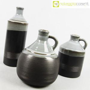 Ceramiche Bucci, bottiglia e coppia brocche, Franco Bucci (3)